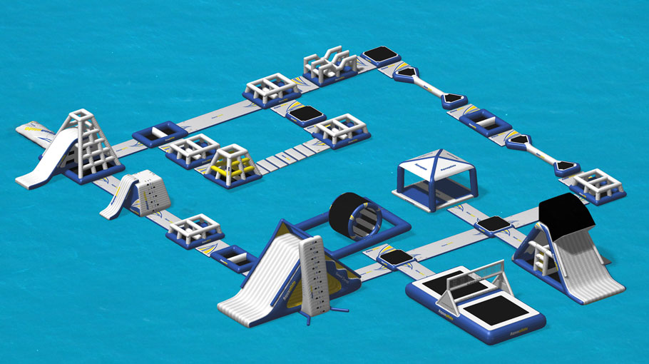 Image technique Jeux Aquatiques en Lac